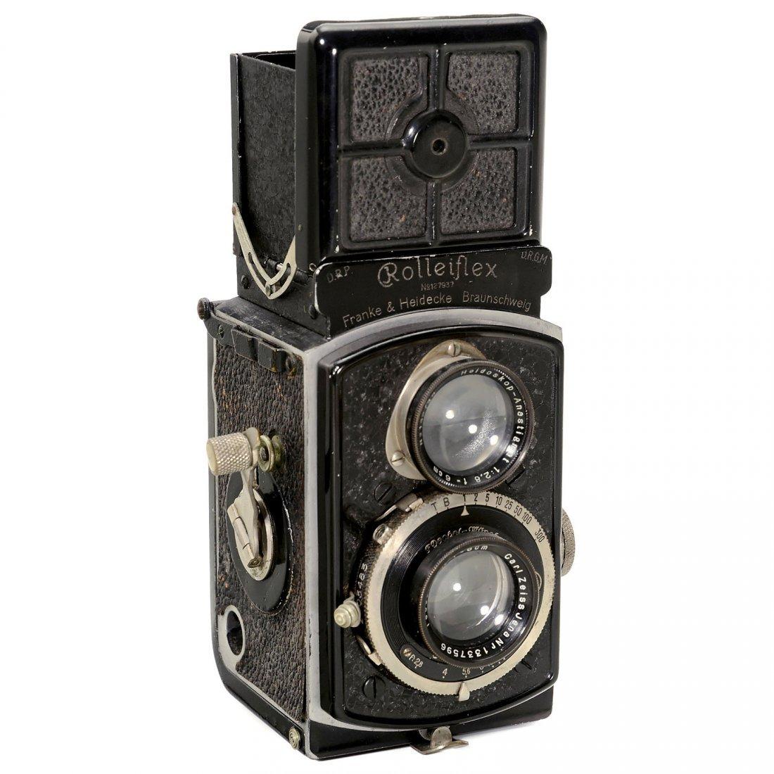 Rolleiflex 4 x 4 (1. Modell 2,8), 1931