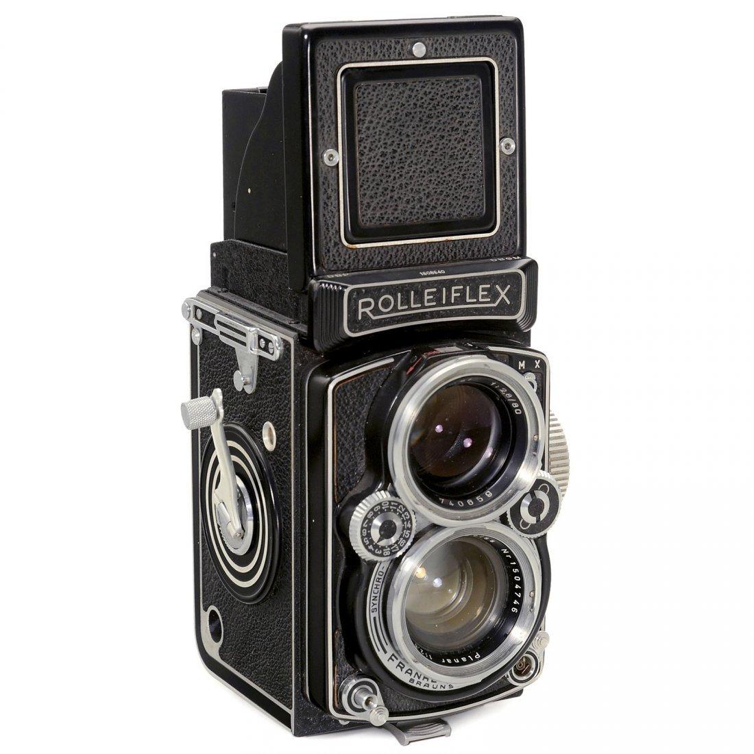 """Rolleiflex 2,8 D """"Planar"""", 1955"""