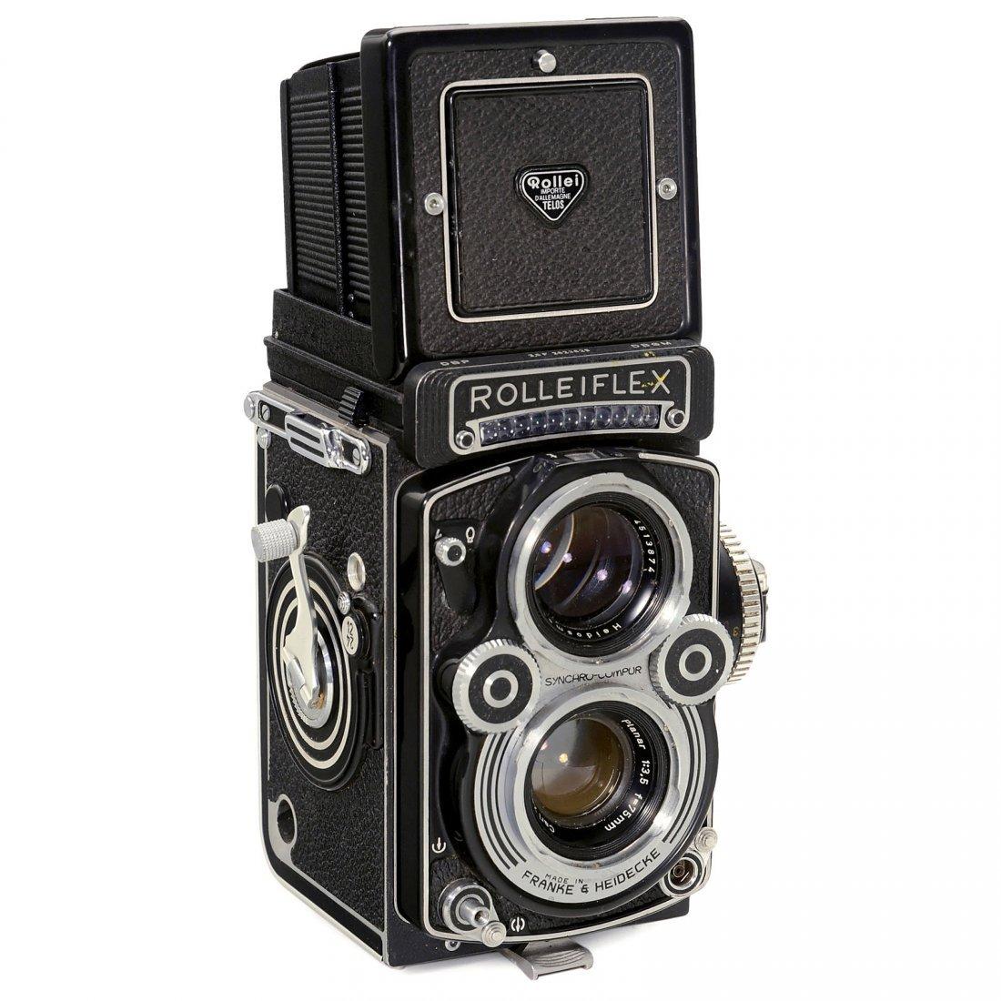 """Rolleiflex 3,5 F """"Planar"""", 1965"""