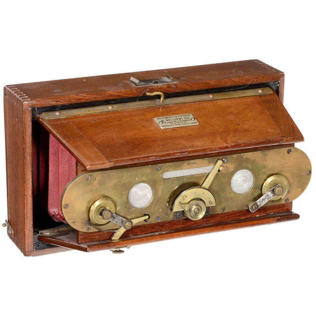 Bellieni Stereo Folding Camera, 1892