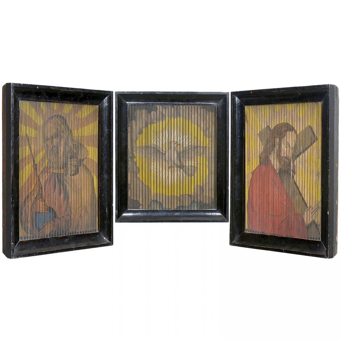 3 Tabula Stritta Pictures (Triscenorama = Three-Way - 4