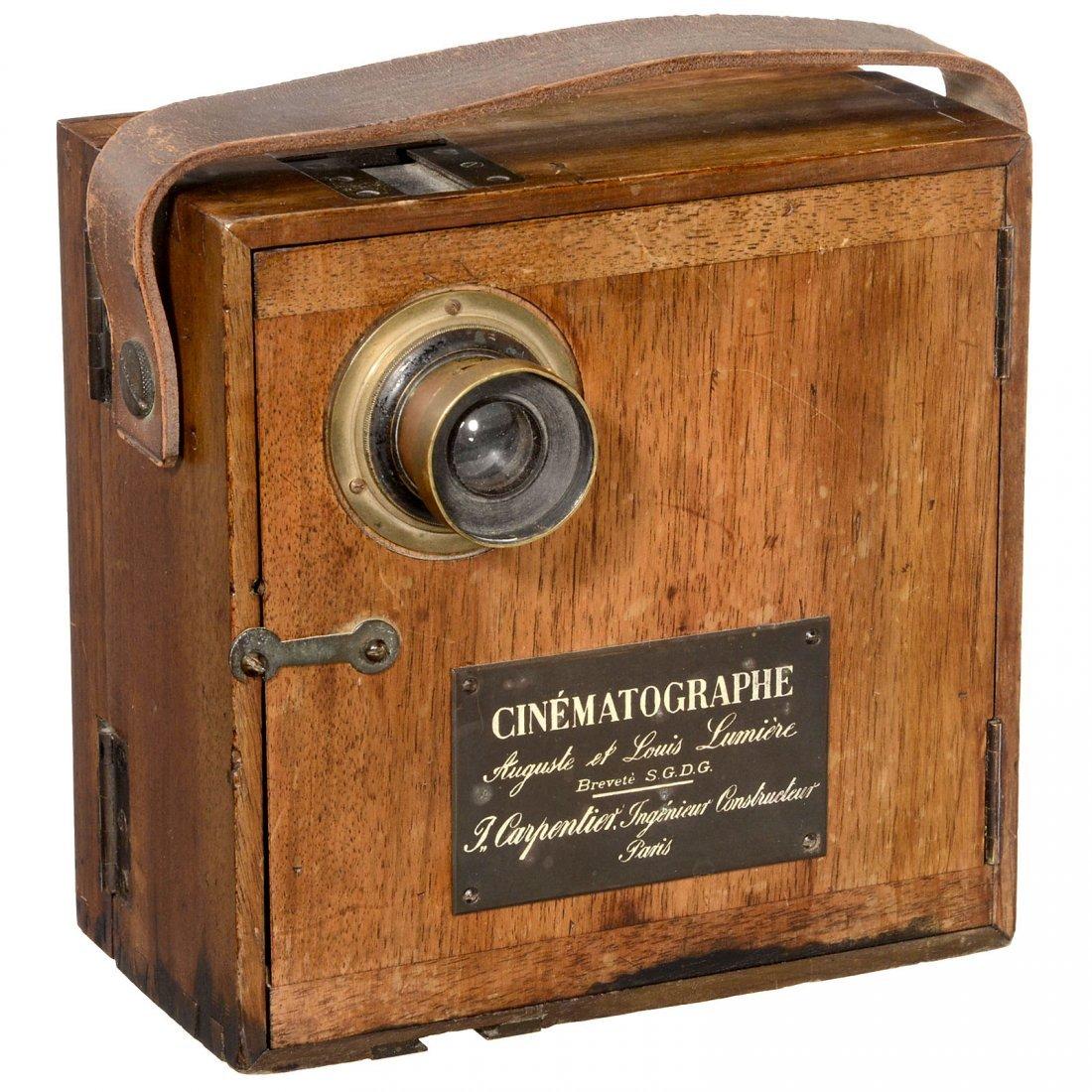 "Sensational Milestone: ""Cinématographe Lumière"", from"