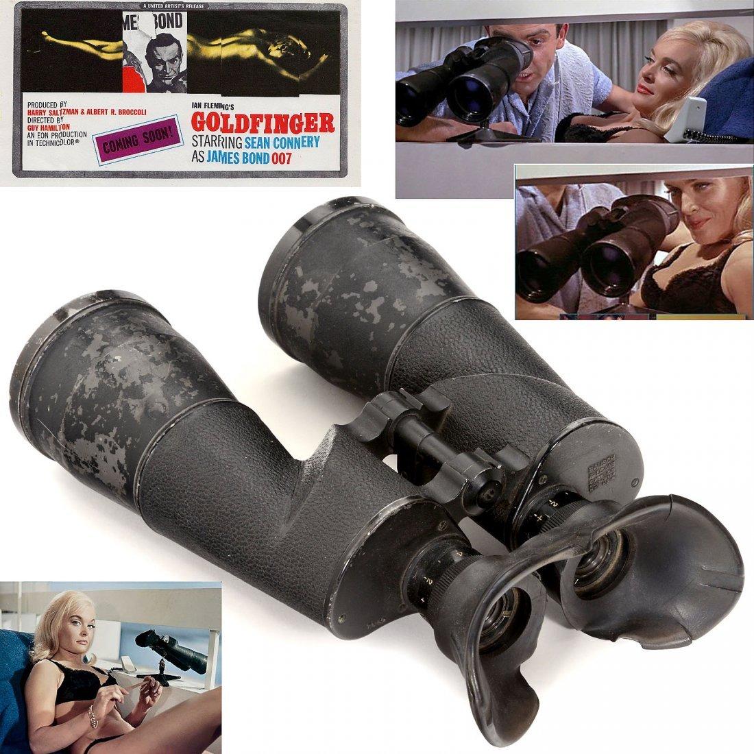 """Bausch & Lomb 7 x 50 """"Goldfinger"""" Binoculars, 1963"""