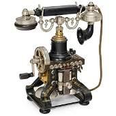 Skeleton Telephone by L.M. Ericsson, c. 1905