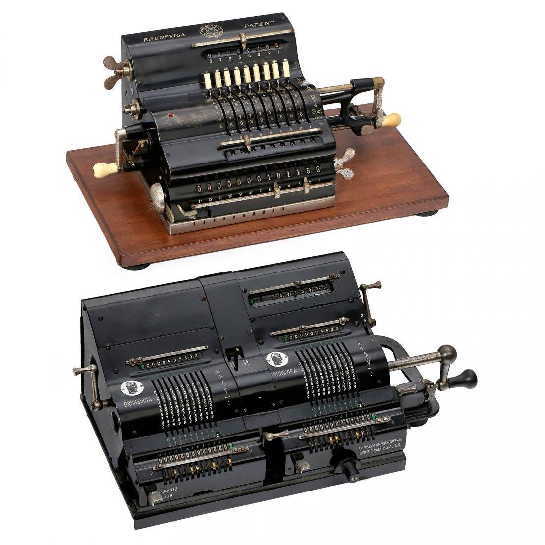 "Brunsviga Patent and ""Doppel-Brunsviga"" 13 Z"