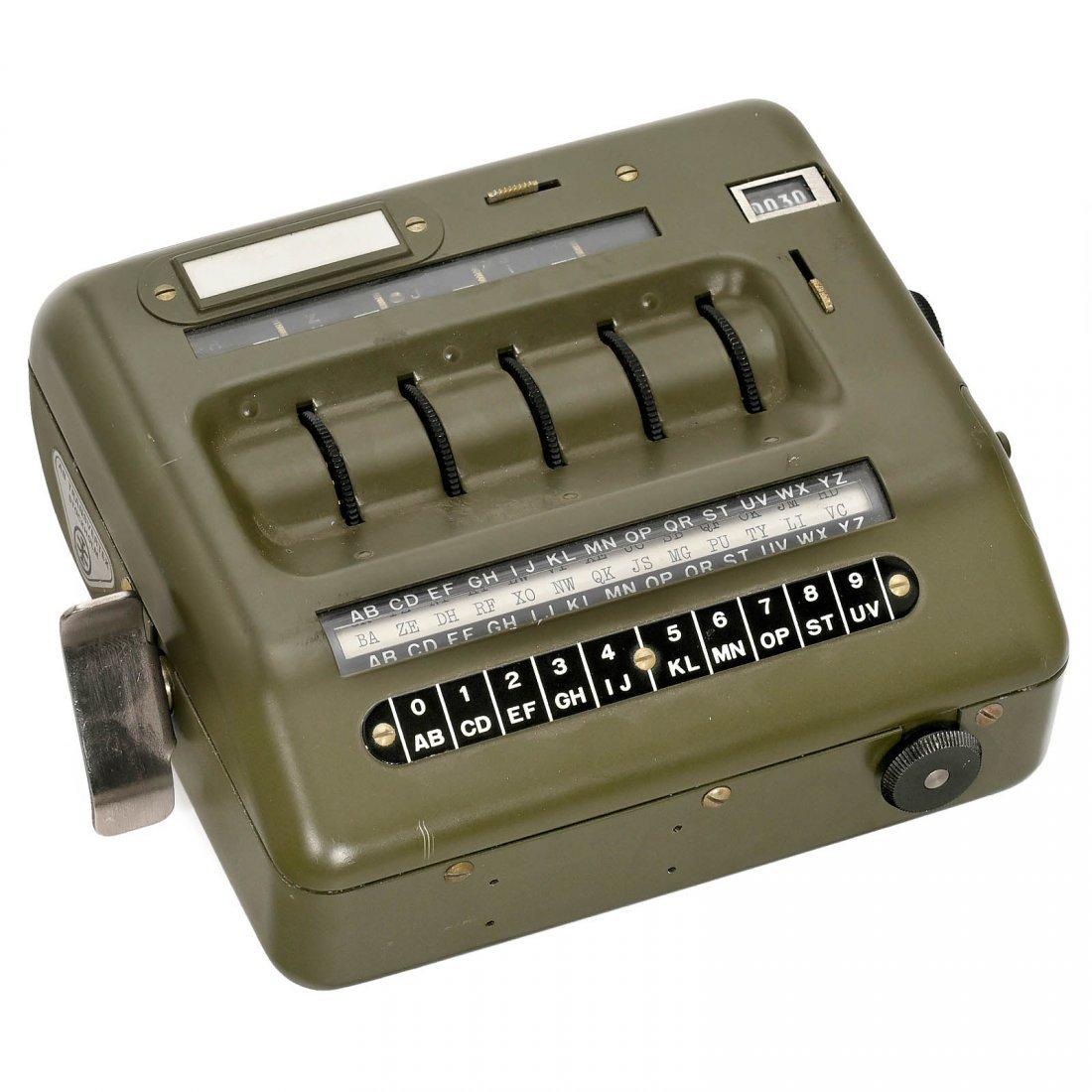 Transvertex HC-9 Cypher Machine, c  1955
