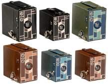 """6 """"Beau Brownie"""" Cameras, 1930"""