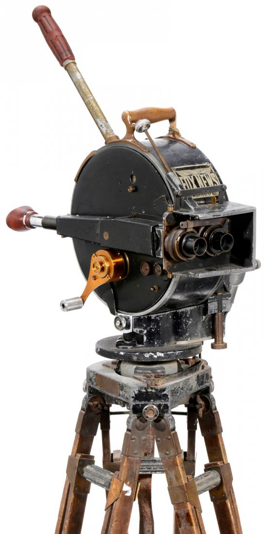 Akeley Fox News Motion Picture Equipment, c. 1915