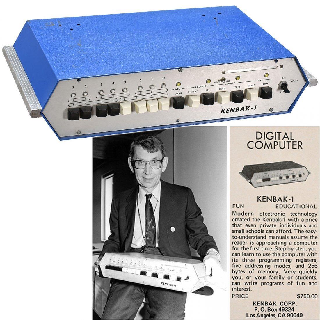 Kenbak-I Digital Computer, 1971