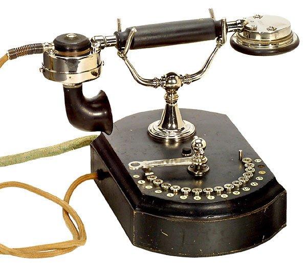 39: 2 Telephones by Siemens & Halske Telefone