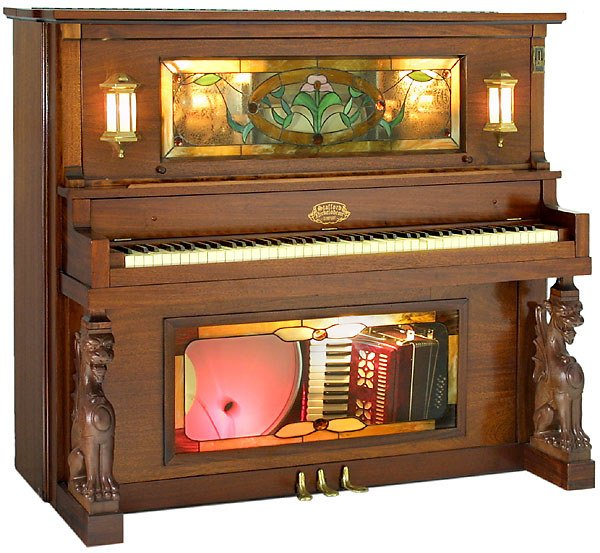 499: Coin-Operated Nickelodeon Keyboard Orchestrion