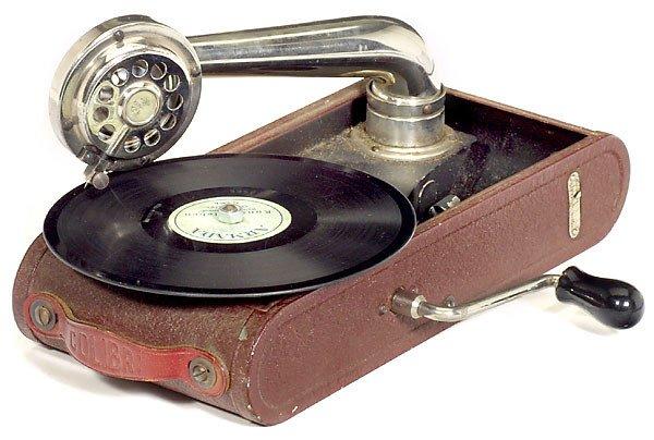 "548: Portable Swiss Gramophone ""Colibri"""