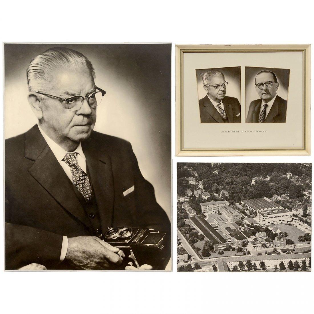 Portrait Photographs by Franke & Heidecke, 1950s
