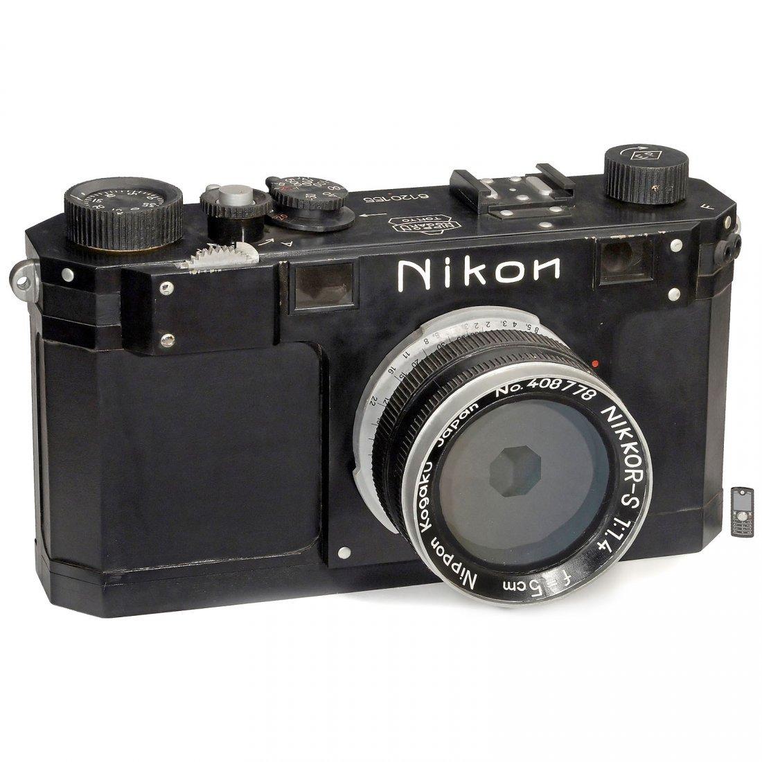 "Giant ""Nikon S"" Advertising Model, c. 1951"