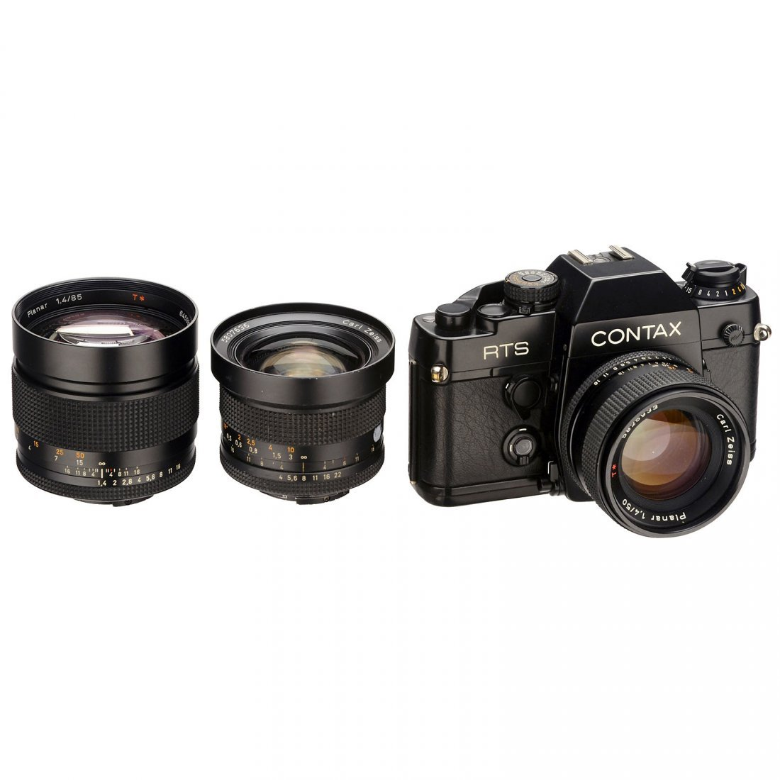 Contax RTS II with 3 Lenses