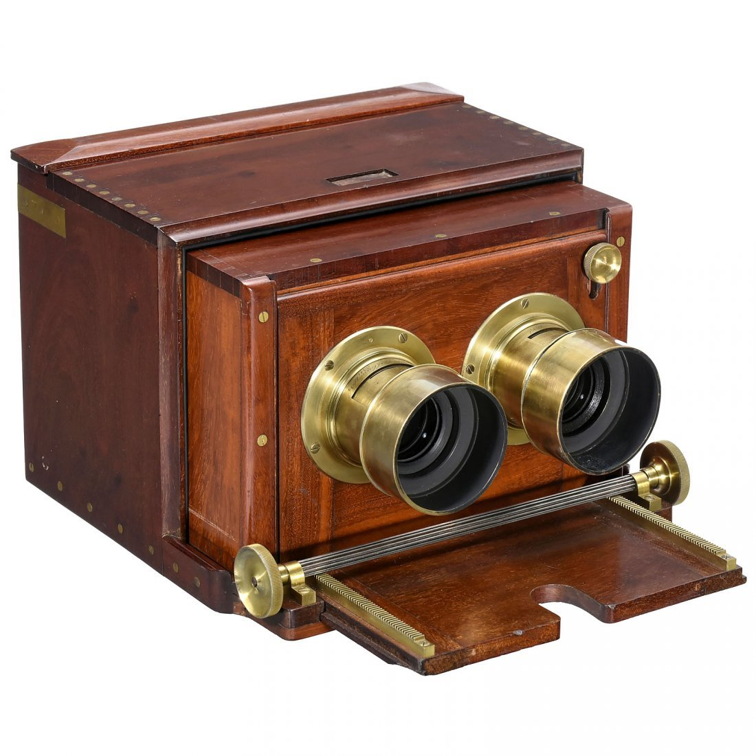Stereo Wet-Plate Camera by Dallmeyer, c. 1860