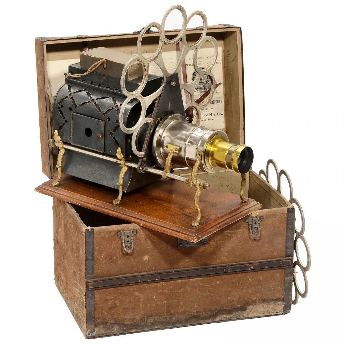 "Magic Lantern ""Pettibone: Sciopticon"", c. 1890"