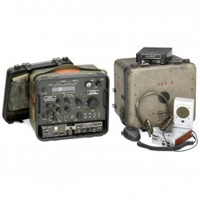 An/prr-15 Military Receiving Radio Set, C. 1956