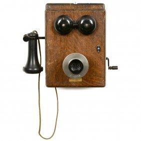 Western Electric Wall Telephone, C. 1913