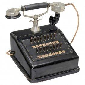German Intercom Telephone, C. 1920