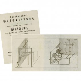 Incunabula Of The Typewriter History, 1783