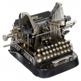 "Rare ""the Courier Typewriter"", 1903"