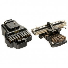2 Stenographic Machines