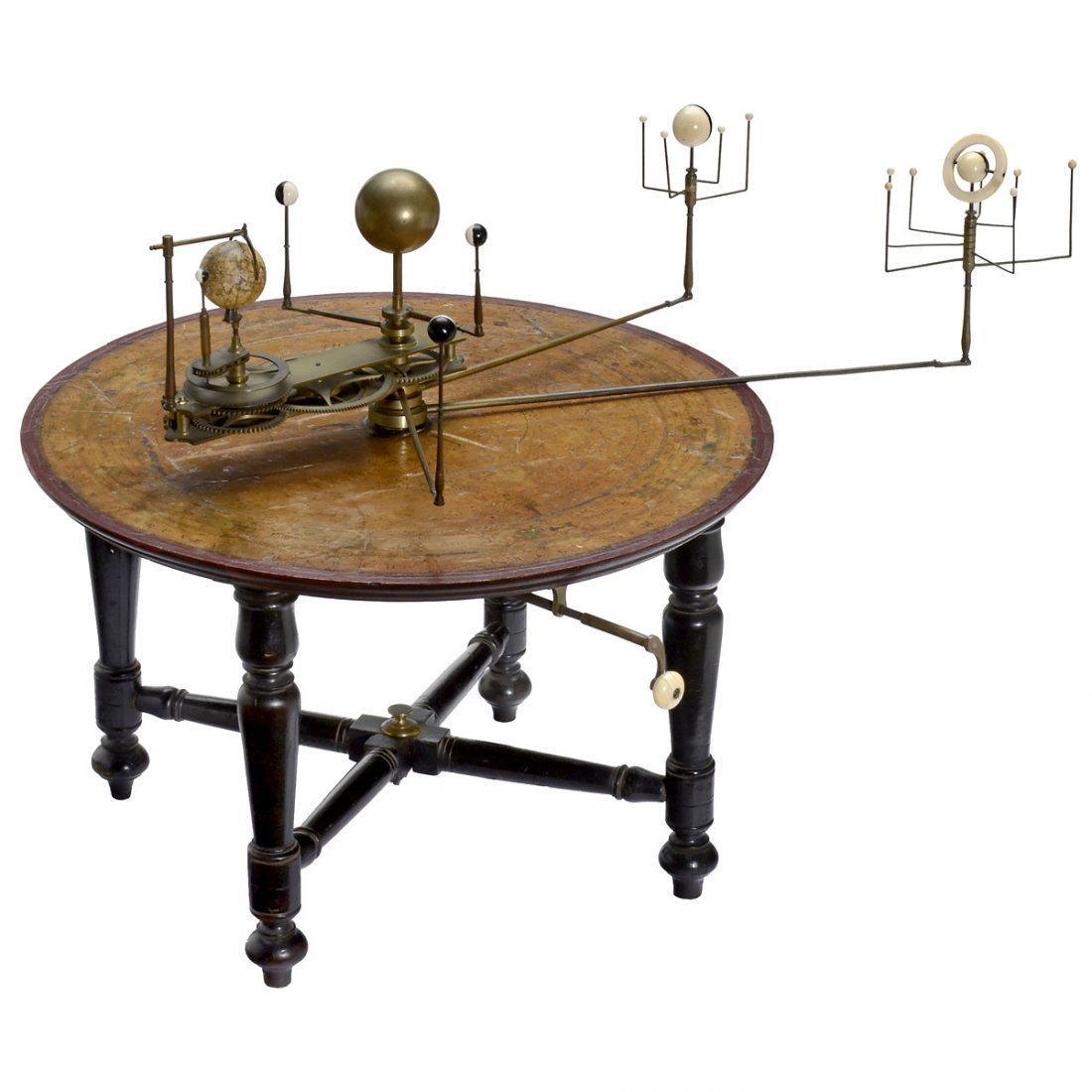 An English Table Orrery, early 19th Century