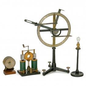 4 Physical Demonstration Models, C. 1910