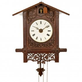 Black Forest Cuckoo Alarm Clock, C. 1860