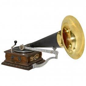Columbia Model Aj Disc Gramophone, 1902 Onwards