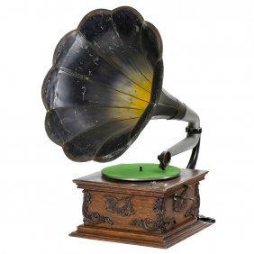 "Rare ""sousa"" Talk-o-phone Gramophone, 1906"