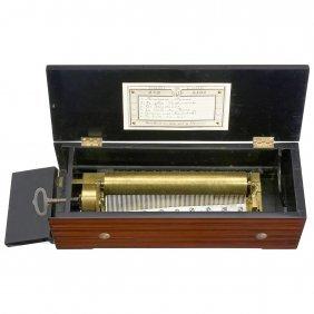Early Key-wind Musical Box, C. 1840