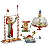 4 German Toys 1960 onwards
