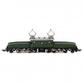 """Märklin """"crocodile"""" Electric Locomotive No. 3015, Gauge"""