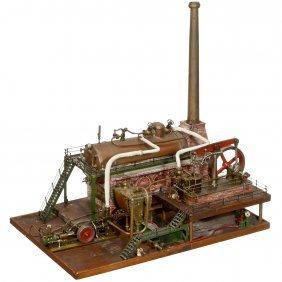 Large Steam Engine Plant, C. 1950