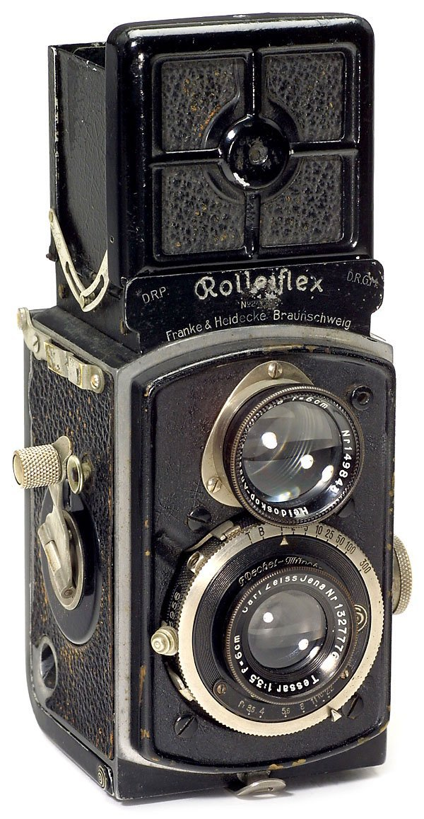 3: Rollei Rolleiflex 4 x 4 Made in Germany, 1934