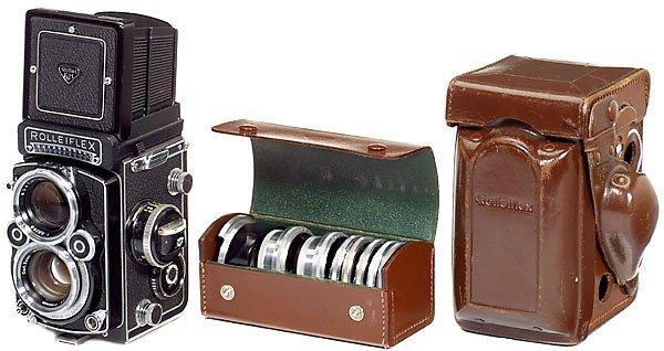 4: Rollei Rolleiflex 2,8 F, 1967