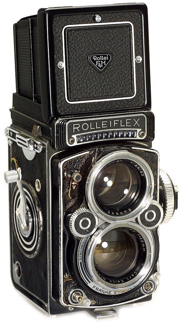 7: Rollei Rolleiflex 2,8 F