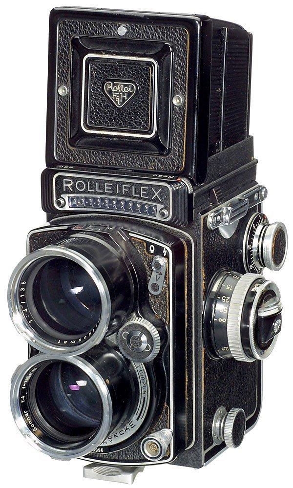 8: Rollei Tele-Rolleiflex,1959, serviced 1992