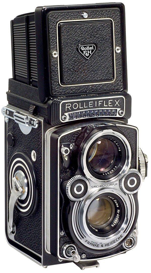 9: Rolleiflex 3,5 F, 1960