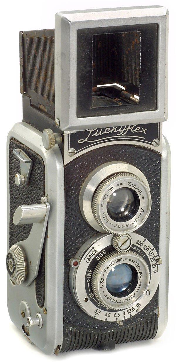 18: Italian TLR Luckyflex 24x36, 1948