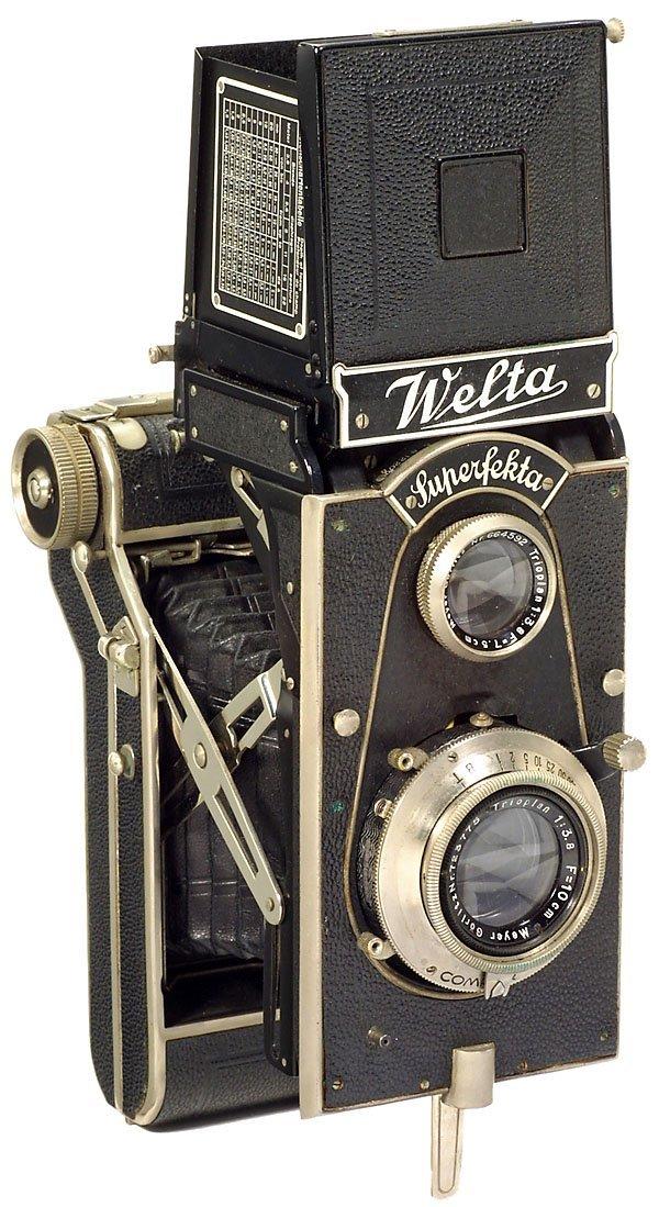 20: Welta Superfekta, TLR 6x9 cm1935