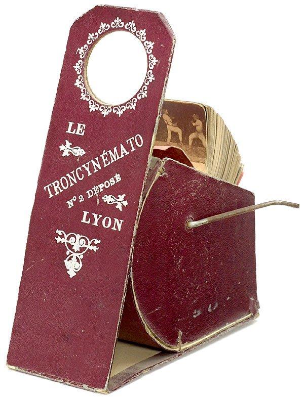 630: Le Troncynémato No. 2 C. Troncy, Lyon. Cardboard