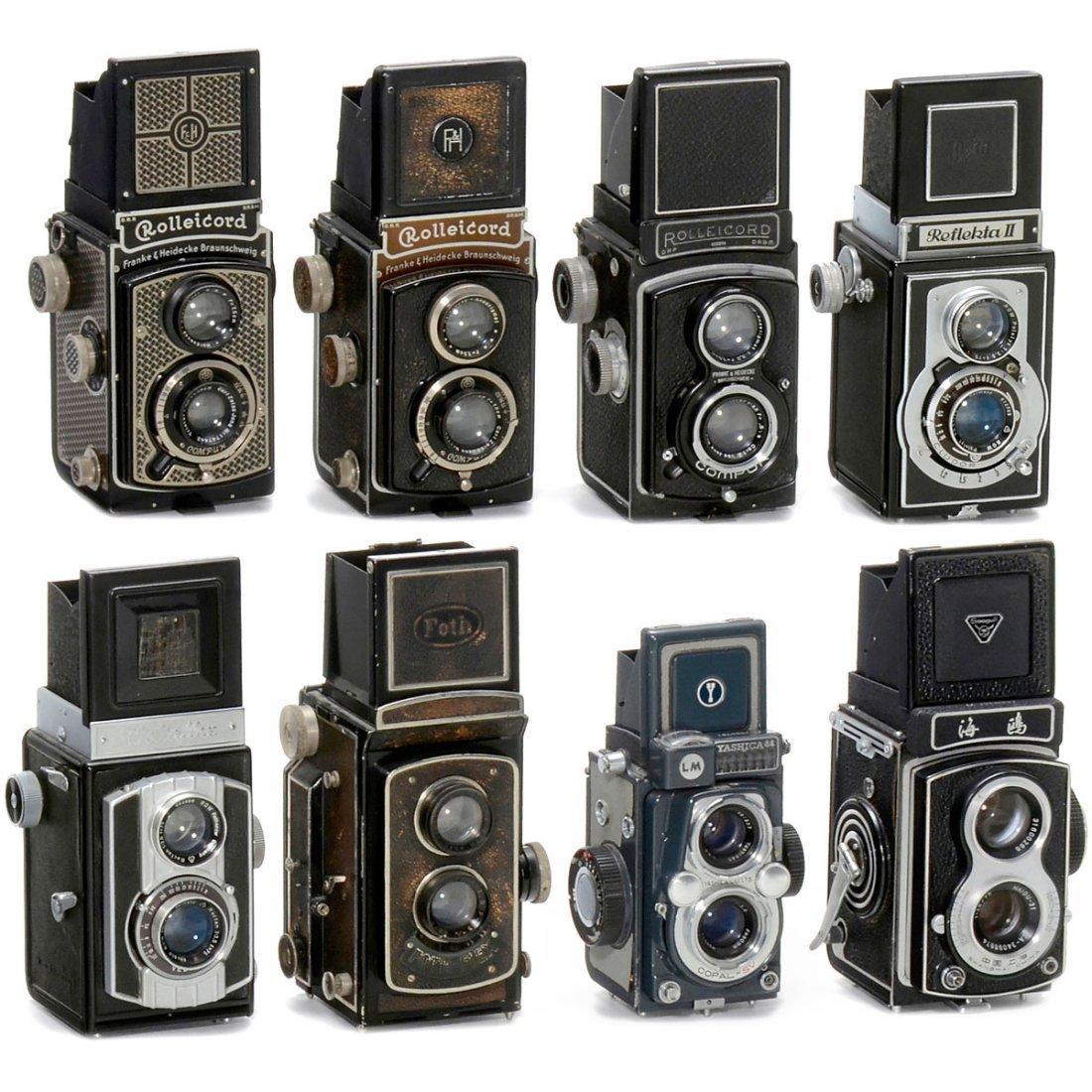 8 TLR Cameras