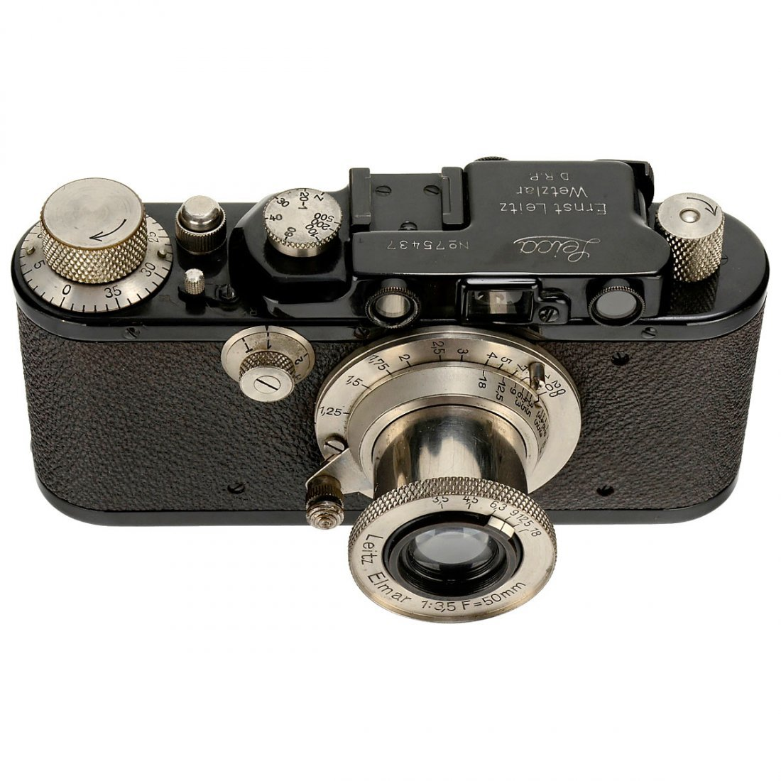 Leica II (D) with Elmar 50 mm, 1932