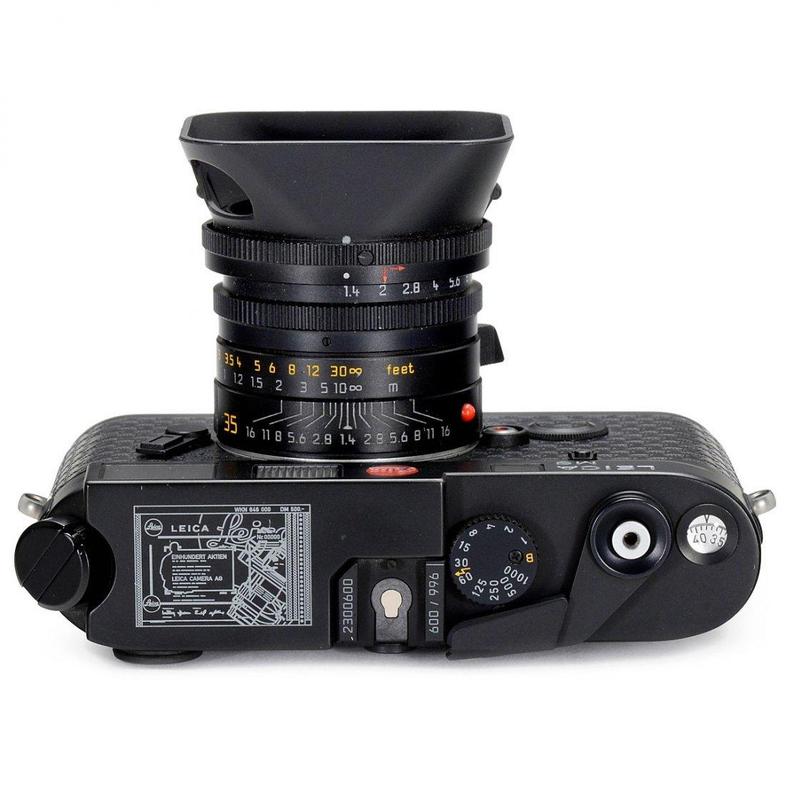 """M6 """"Ein Stück Leica"""", Stock Market Launch 1996, 1996 - 2"""