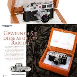 "Leica M6 ""50 Jahre fotoMAGAZIN 1949–1999"", Single"