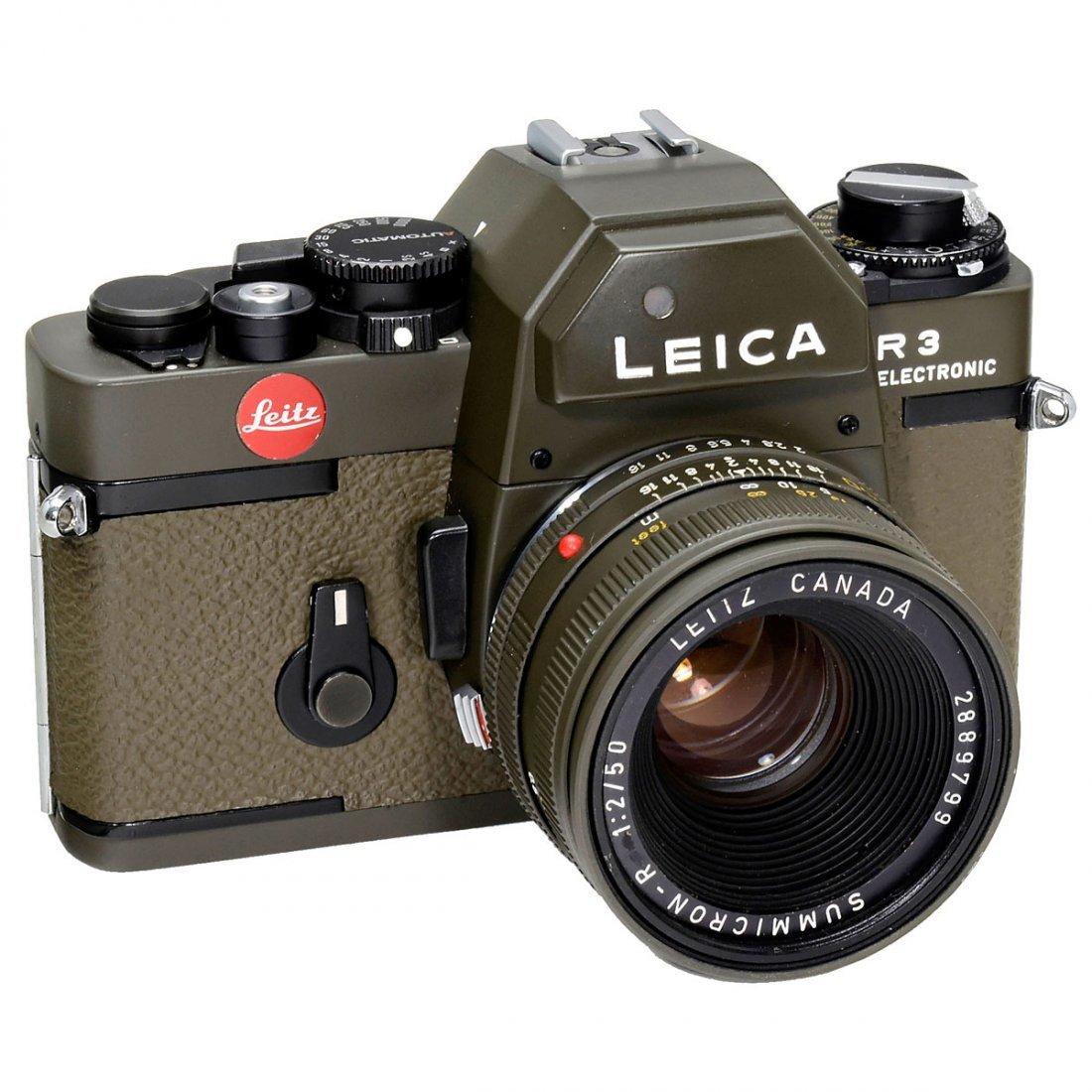 """Leica R3 electronic """"Safari"""", 1978"""