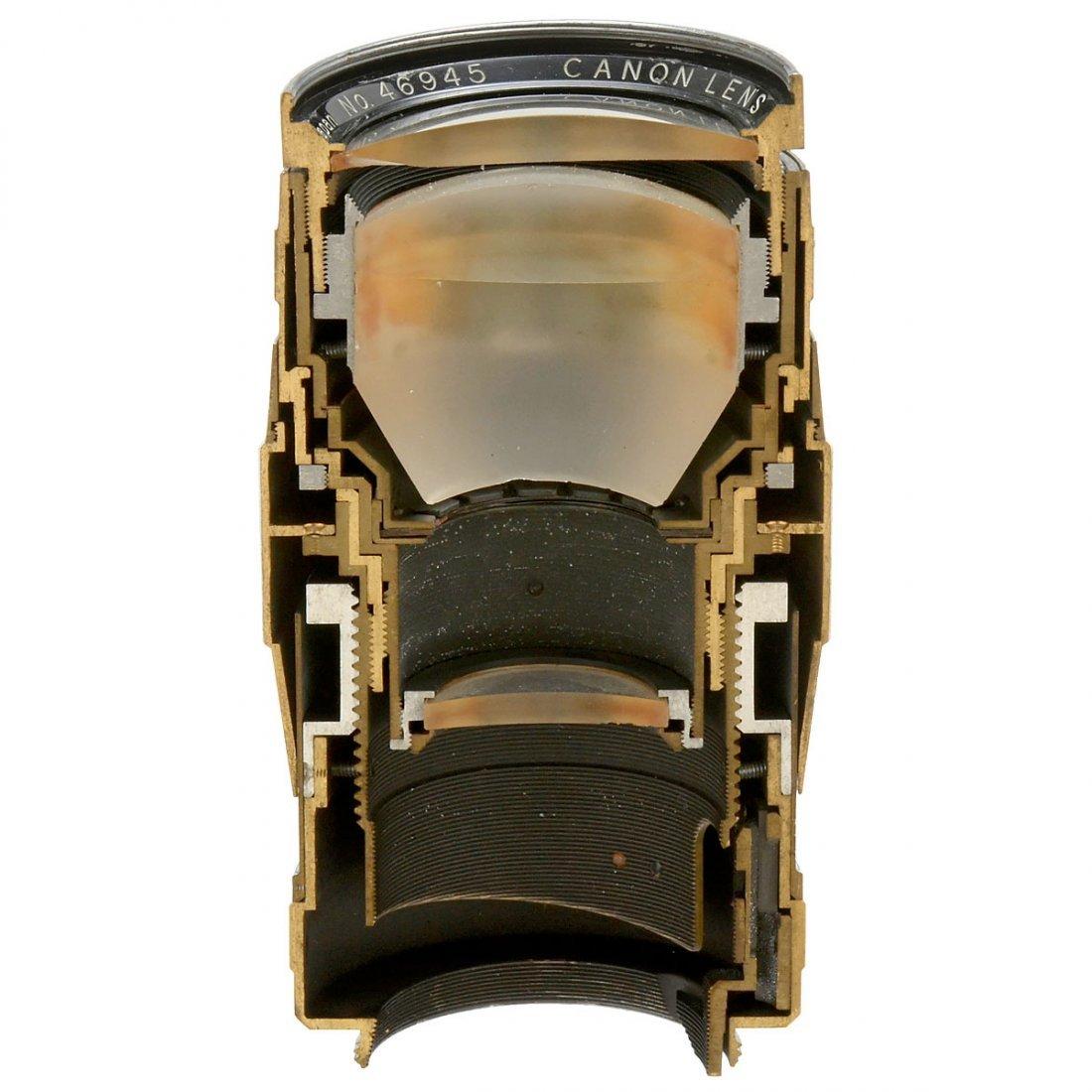 Canon Lens Cutaway Model